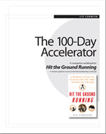 The 100-Day Accelerator: A Companion Workbook for Hit the Ground Running
